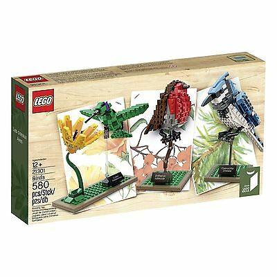 LEGO IDEAS 21301 THE BIRDS SET 580PCS BLUE JAY HUMMINGBIRD ROBIN BRAND NEW