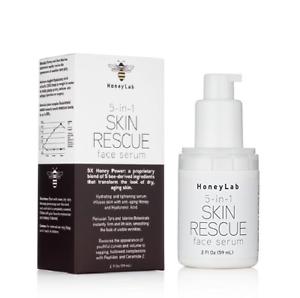 HoneyLab 5 in 1 Skin Rescue Face Serum 2 fl.oz - New in Box MSRP $40