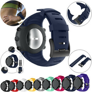 Sur Détails Bande Montre Bracelet Pour Poignet 9 Core Suunto Colors Silicone Rechange De v0wn8mN