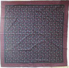 GIORGO ARMANI  Superbe Châle 140 x140  soie et laine   TBEG vintage Scarf