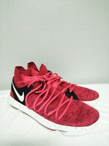 7371c012ae9b Nike Zoom KD 10 X Red Velvet Cupcake Kevin Durant 897815-600 Size 14 ...