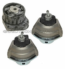 Right /& Driver Left Engine Mounts Hutchinson For BMW E60 525xi 528xi 530xi Pass