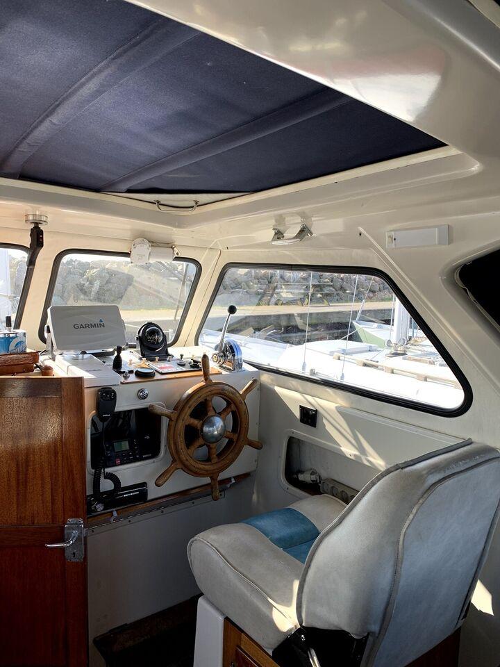 Ferskvandskølet motorbåd