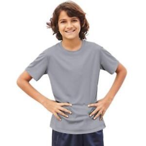 744d76591 Boys' Short Sleeve CoolDri Performance Tee (50+ UPF Rating), Size ...