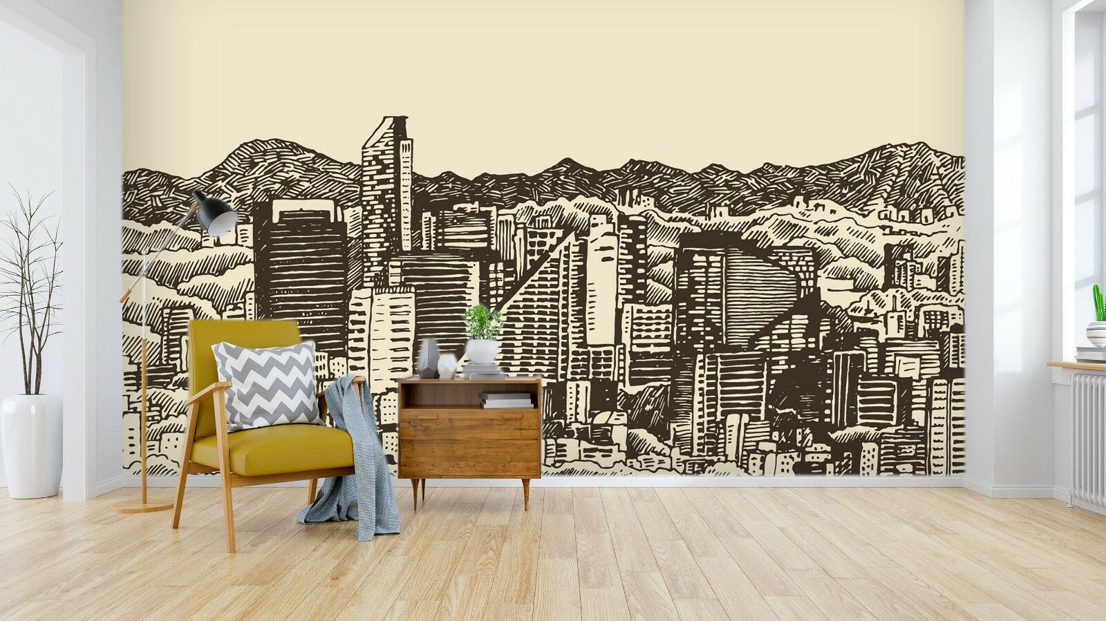 3D Mexico Skyline 9 Wall Paper Exclusive MXY Wallpaper Mural Decal Indoor Wal AJ