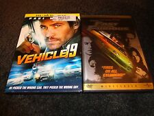 VEHICLE 19 & THE FAST AND THE FURIOUS-2 dvds-PAUL WALKER, VIN DIESEL-Car Action