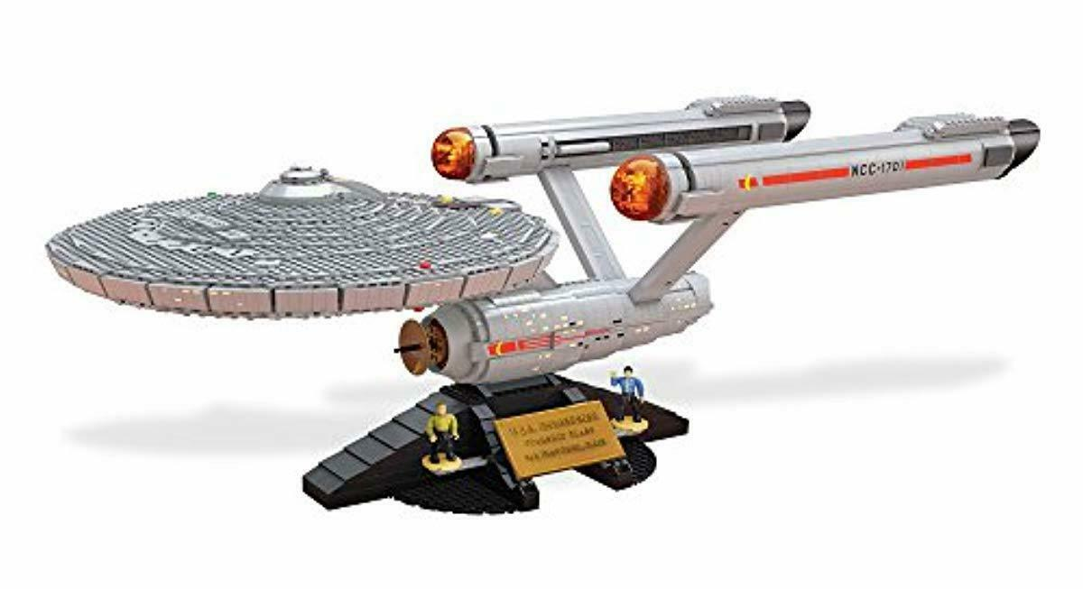 NEW Star Trek U.S.S. Enterprise NCC 1701 Collector Construction Set Set Set Top Quality ae3f02