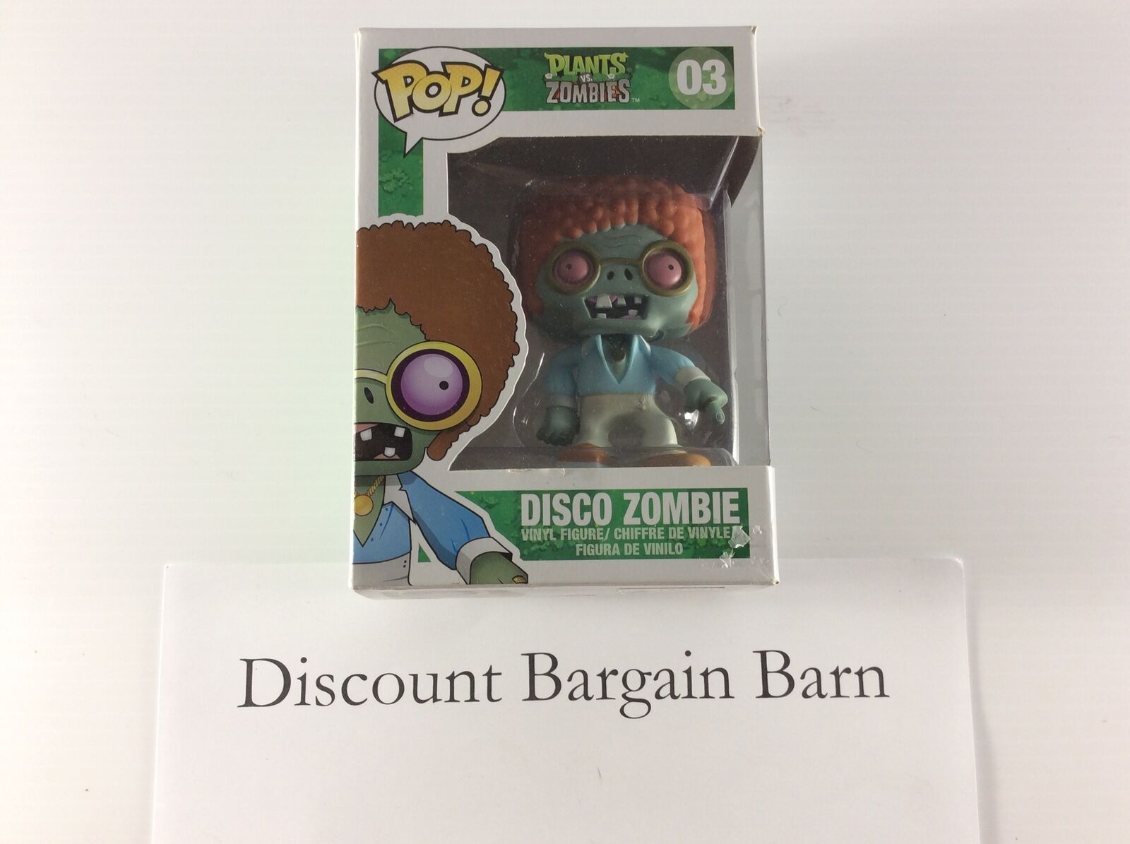 Funko Pop Plants vs Zombies: Disco Zombie