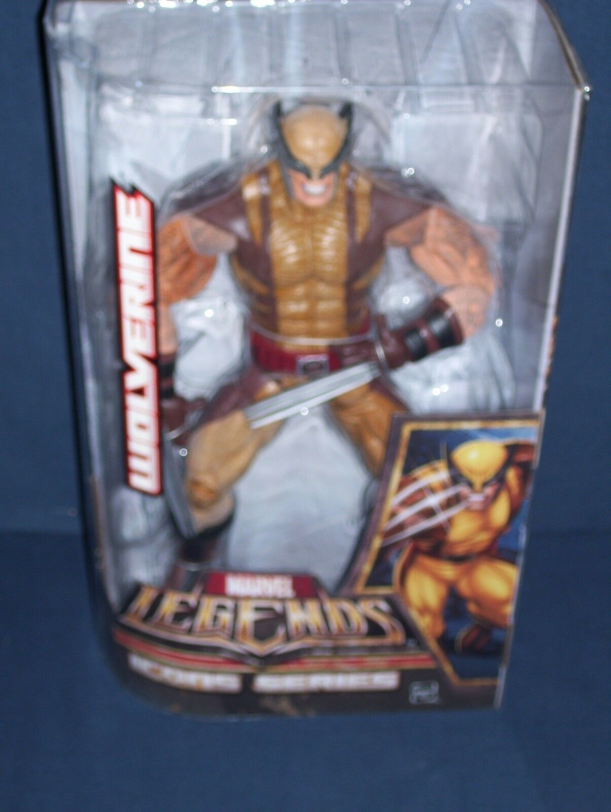 Marvel Legends Wolverine 12' Icon Series Hasbro 2006 NIB