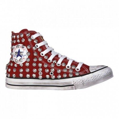 Converse burdeos All Star burdeos Converse [adaptado del producto] zapatos ocupado original 10 17c0c2