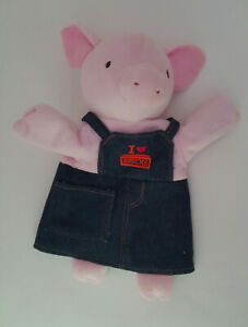 Finger Puppets Educational Hand Toy Kids Story Three Little Pigs Finger DolFBDU