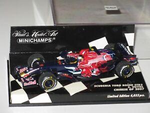 Toro Rosso Str2 - Chinene Gp 2007 Vettel F1 1/43 Spark / Minichamps