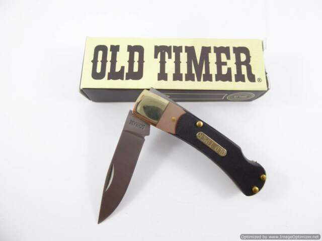 Schrade Old Timer 30T Bearhead Lock Back Pocket knife