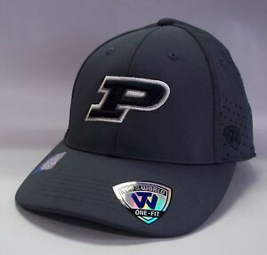 the latest 694b4 7648b Image is loading Purdue-Boilermakers-Hat-One-Fit-Top-Of-The-