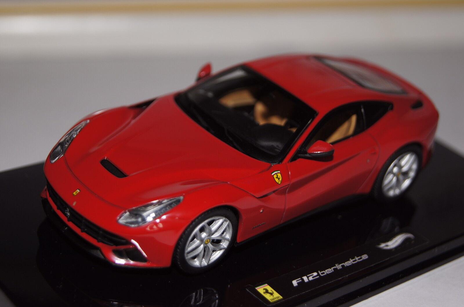 tienda en linea Ferrari f12 rojo 1 43 Hot Wheels nuevo nuevo nuevo & OVP  nueva gama alta exclusiva