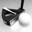 SX1-Directional-PnP-Golf-Putter-Point-Putt-2-Hand-Club-Cover-Right-Left-34-35-36