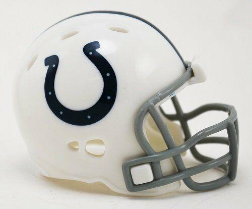 NFL Football Helmet Indianapolis Colts Pocket Mini Speed Footballhelm Helmet