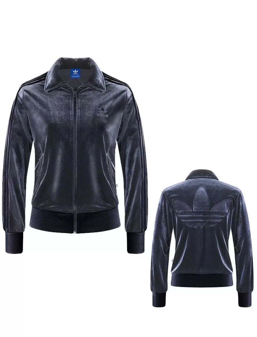 Adidas Originals Firebird γυναικΡία βΡλούδο VELVET Vibes Track Jacket NWT ΞœΞΞ³Ξ΅ΞΈΞΏΟ' S