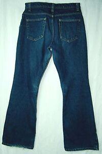 Loose-FLARE-LEG-Mid-Rise-5-Pocket-ARIZONA-Whisker-Wash-100-Cotton-Jeans-11