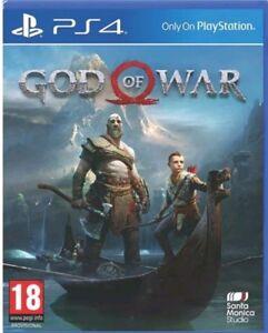 God of war ps4 UNCUT ( SONY PLAYSTATION 4) NEUWARE