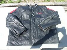 "Original Sean John Leather Jacket TIGER JAPAN 27"" CHEST"