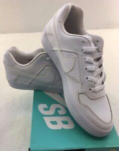 Details about NIKE SB Delta Force Vulc 942237 112 Men's Athlelic Shoe White  / Whit NWD