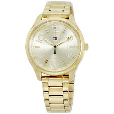 Tommy Hilfiger Women's Quartz Stainless Steel and Leather Casual Watch 1781673)