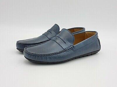 Mocassini uomo +2 PIÙ DUE 1305 pelle blu primavera estate 2019 scarpe casual | eBay