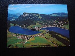 SUISSE-carte-postale-1980-le-pont-les-charbonnieres-B13-switzerland