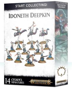 tienda en linea Warhammer Warhammer Warhammer edad de Sigmar  empezar a recolectar  idoneth deepkin GW 70-78 Nuevo En Caja  entrega rápida