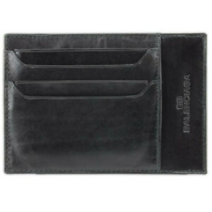 Porta-tarjetas-de-credito-de-diseno-Balenciaga-en-color-negro