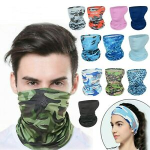 Christmas Unisex Scarf Tube Bandana Face Neck Cover Gaiter Multi-use Headwear