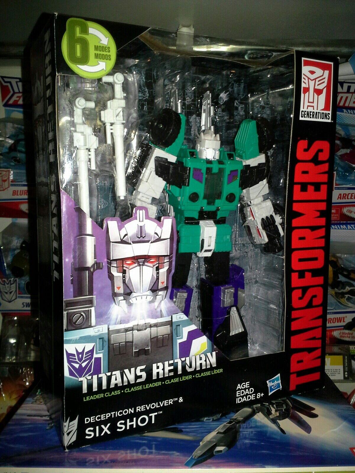Líder de Transformers Generaciones Titanes de retorno tiro seis Nuevo