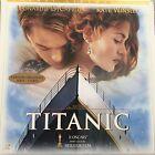 TITANIC WS VO ST THX PAL N&S LASERDISC DiCaprio, Kate Winslet, Billy Zane
