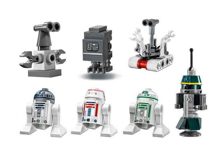 LEGO 75059 Star Wars Sand Crawler Droid Minifigures R1, R2, R5, Treadwell & More