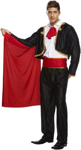 MATADOR BULLFIGHTER BULL FIGHTER SPAIN SPANISH ADULT FANCY DRESS