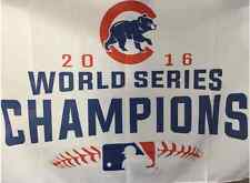 New Chicago Cubs 2016 World Series Champions 3x5 ft Flag * FATHER'S DAY SALE *