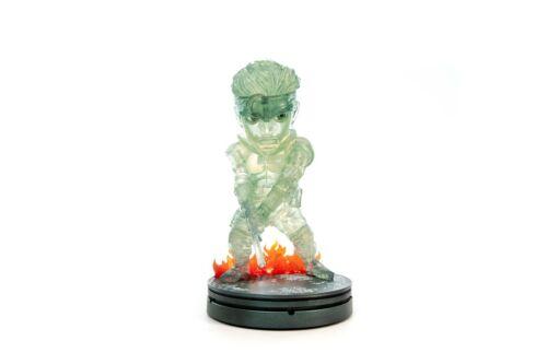 20cm PVC Transparente sigilo Camo. Solid Snake Primeros 4 figuras-Metal Gear Solid