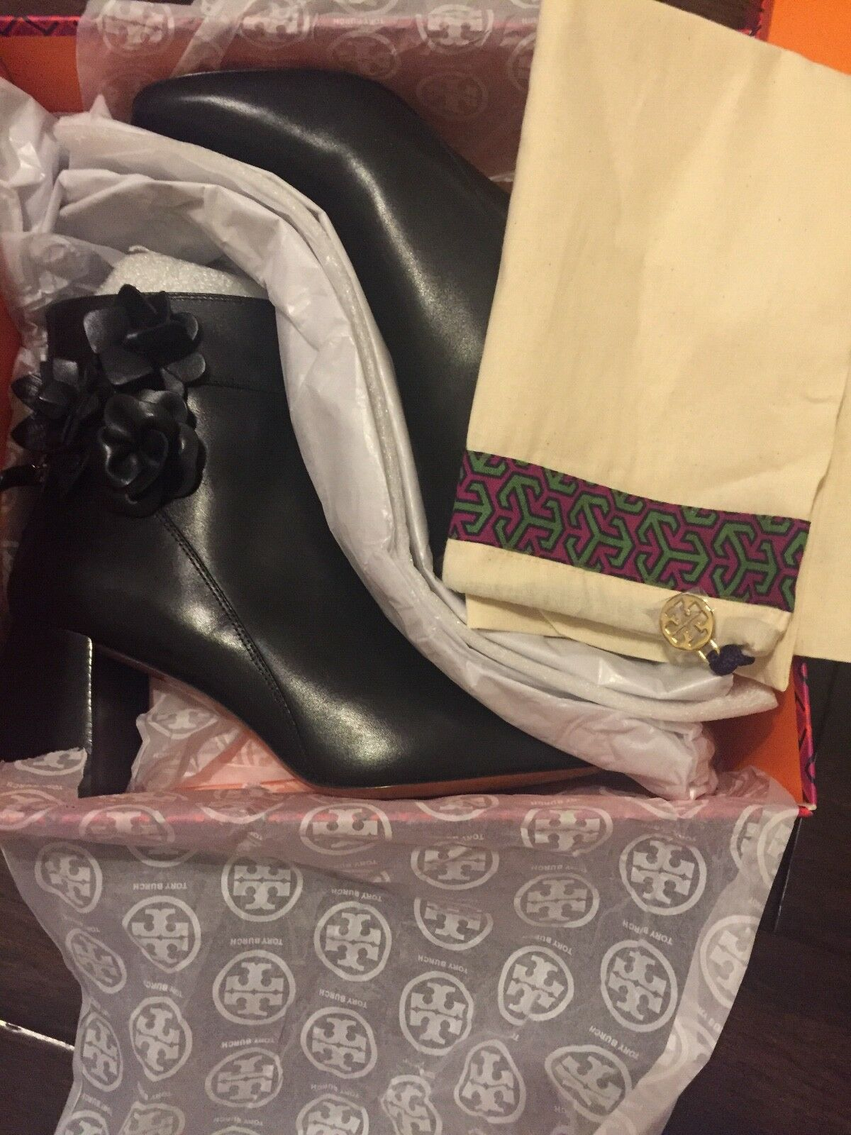 Tory burch boots, brand new with with with box, black, size 9 abb34b
