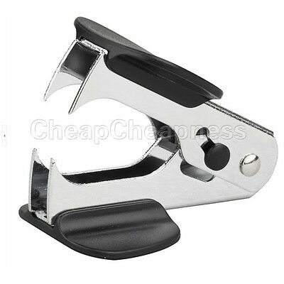 1 Pcs Black Mini Staple Remover Jaw Type Staplers Office Stationery Pop LS1