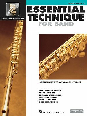 Instruction Books, Cds & Video Bright Essential Technique For Band Intermediate To Advanced Studies Flute 000862617 Musical Instruments & Gear
