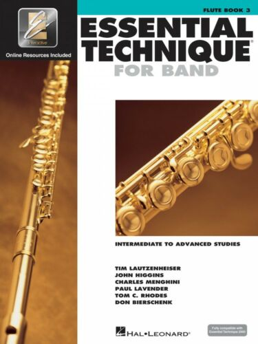Essential Technique for Band Intermediate to Advanced Studies Flute 000862617