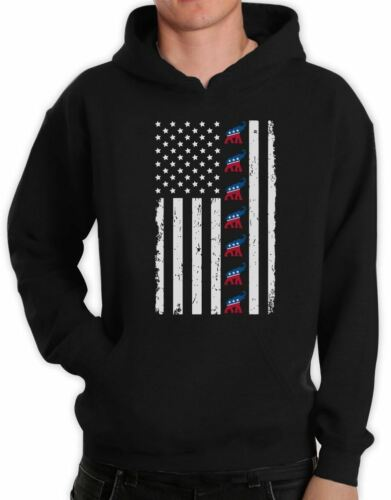 U.S Flag Republican Party Presidential Election Hoodie Political