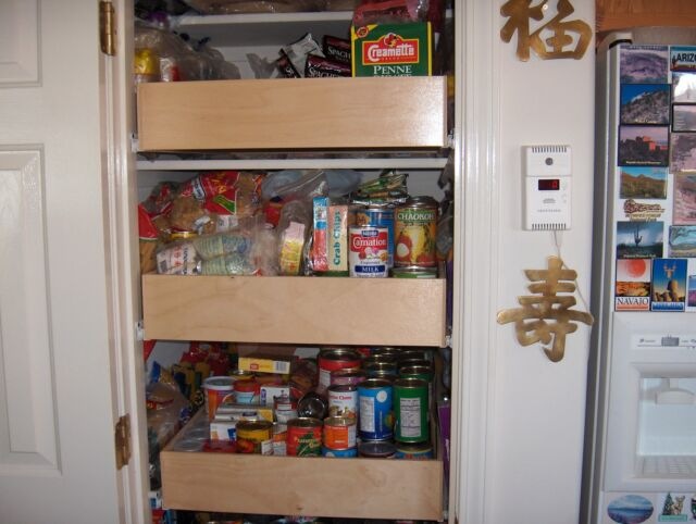 Shelves That Slide 24 X 22 Kitchen Cabinet Replacement Drawer 3 1 2 Tall Tray For Sale Online Ebay
