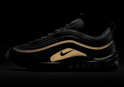 Nike Air Max 97 Black Gold Reflective Retro OG PRM SE Size 11.5 AA3985 001 95 98 | eBay