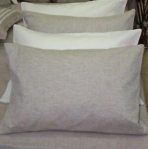 Linen-Pilowcase-Envelope-Closure-King-Body-Pillow-Flax-PILLOW-CASE-COVER