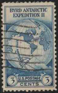 OL77-USA-1935-BYRD-ANTARCTIC-EXPEDITION-II-SET-1V-USED