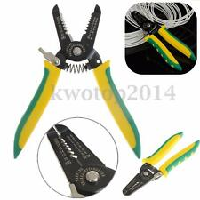 Professional Wire Cable Striper Cutter Stripper Crimper Pliers Electrical Tool