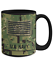 15 oz Mug O4 US Navy Officer LCDR Personalized Gift for Military Navy Veteran