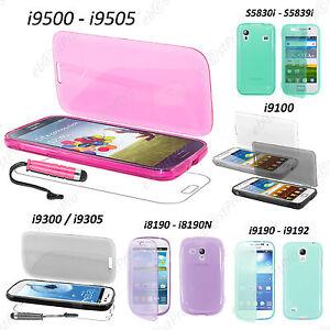 Housse-Coque-Etui-Portefeuille-Livre-Silicone-Samsung-Galaxy-S5-S4-S3-Mini-Trend